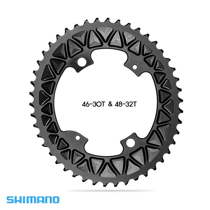 시마노 Sub-Compact 로드 타원체인링